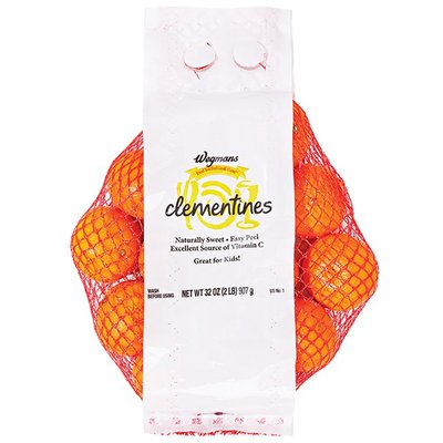Wegmans Clementines, Bagged