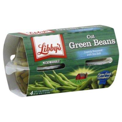 Libby's Cut Green Beans Lightly Seasoned with Sea Salt