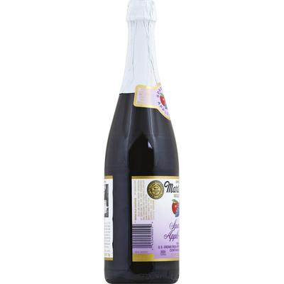 Martinelli's 100% Juice, Sparkling, Apple-Grape