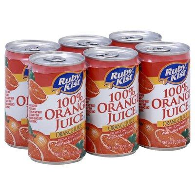 Ruby Kist 100% Juice, Orange