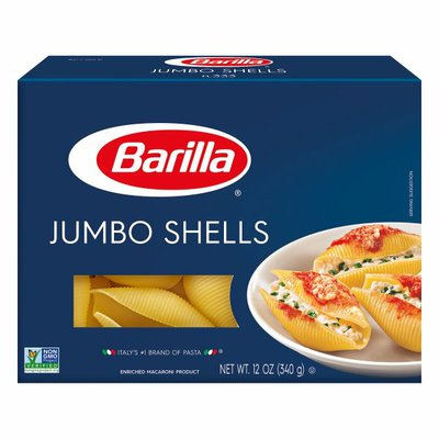 Barilla® Classic Blue Box Oven Pasta Jumbo Shells