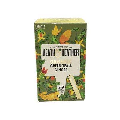 Heath & Heather Organic Green Tea & Ginger