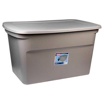 Sterilite Storage Bin, 30 Gallon, Hazelwood