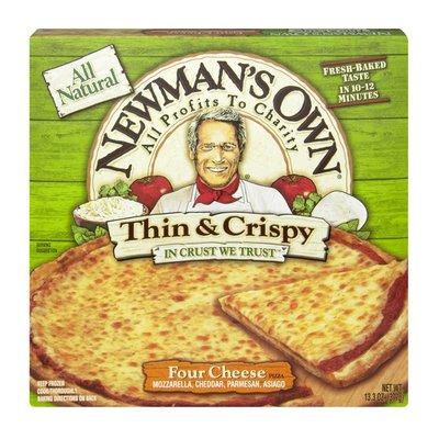 Newman's Own Thin & Crispy Four Cheese Pizza