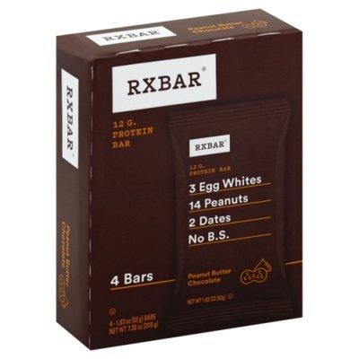 RXBAR Protein Bar, Peanut Butter Chocolate, 12g Protein