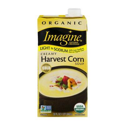 Imagine Organic Light In Sodium Soup Creamy Harvest Corn