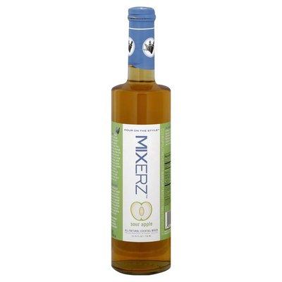 Mixerz All-Natural Cocktail Mixer, Sour Apple