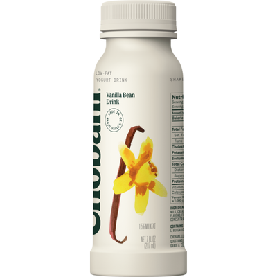 Chobani Greek Yogurt Low-Fat Drink Vanilla Bean