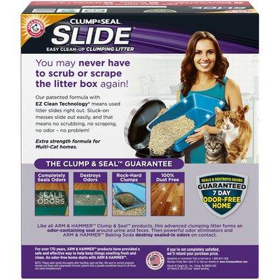 Arm & Hammer Slide Easy Clean-Up Litter, Multi-Cat,