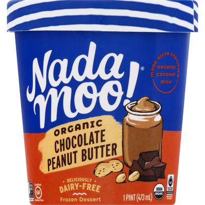 NadaMoo! Organic Chocolate Peanut Butter Frozen Dessert