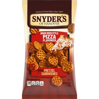 Snyder's of Hanover® Brick Oven Style Pizza Pretzel Sandwiches