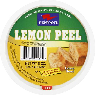 Pennant Lemon Peel