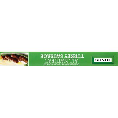 Jones Dairy Farm Golden Brown All Natural Fully Cooked Turkey Sausage