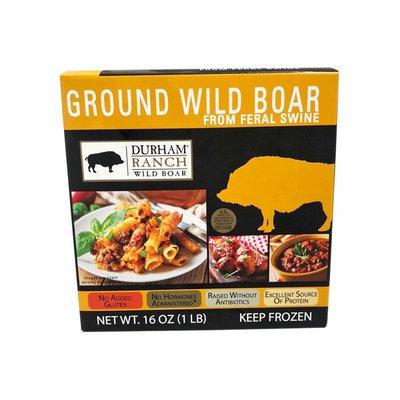 Durham Ranch Wild Boar, All Natural, Ground