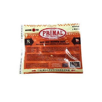 Primal Pet Foods Raw Beef Marrow Bone For Dogs