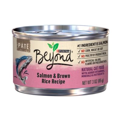 Purina Beyond Pate Salmon & Brown Rice Recipe Adult Wet Cat Food