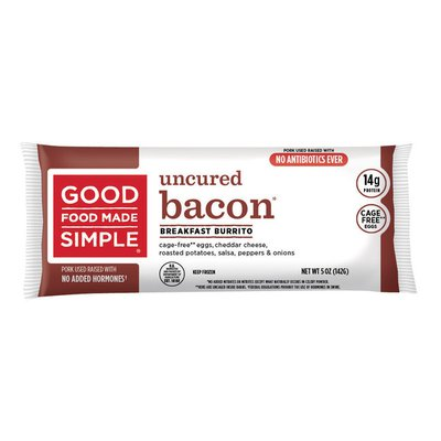 Good Food Made Simple Uncured Bacon Burrito