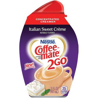 Coffee mate 2Go Italian Sweet Crème Concentrated Liquid Coffee Creamer