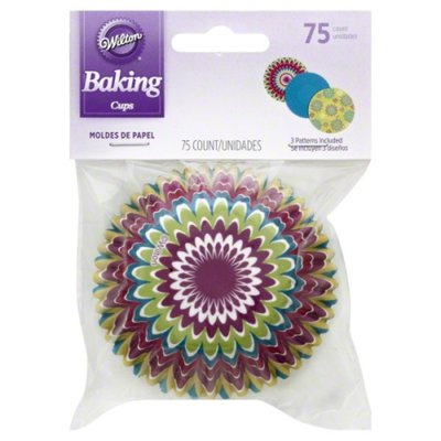 Wilton Starburst Cupcake Liners, 75-Count
