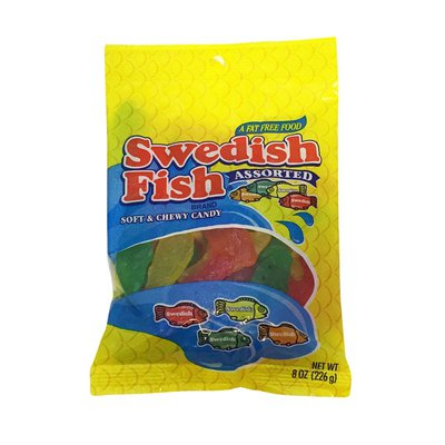 Swedish Fish Assorted Soft & Chewy Candy