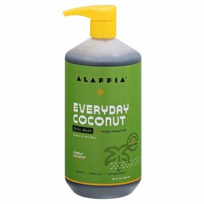 Alaffia EveryDay Coconut  Body Wash, Purely Coconut