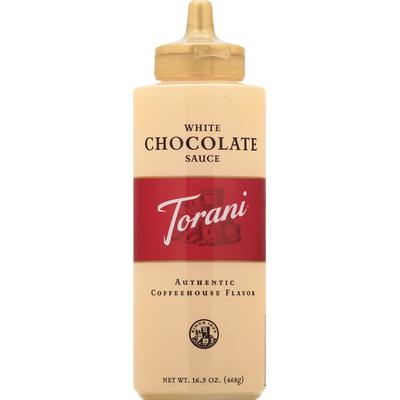 Torani White Chocolate Sauce