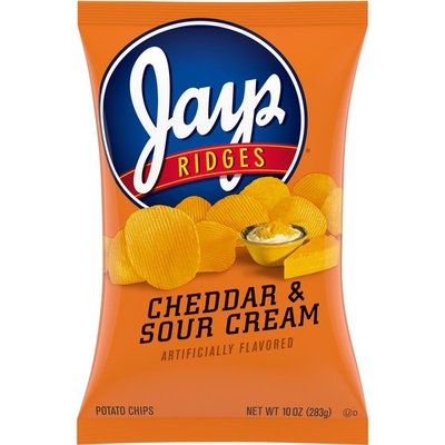 Jays® Ridges Sour Cream and Cheddar Flavored Potato Chips