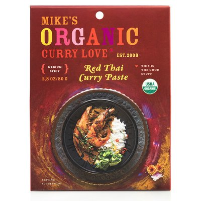 Mike's Organic Curry Love Organic Red Thai Curry Paste