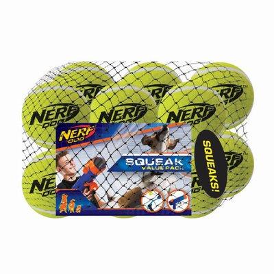 "NERF DOG 2.5"" Extra Small Squeak Tennis Ball Dog Toy"