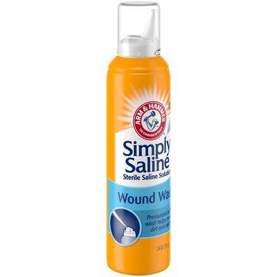Arm & Hammer Simply Saline Wound Wash Sterile Saline Solution