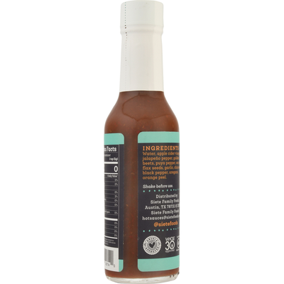 Siete Hot Sauce, Traditional