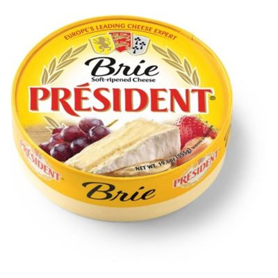 Président Brie Soft Ripened Cheese wheel