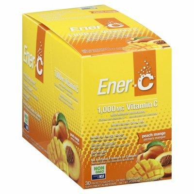 Ener-C Vitamin C, 1,000 mg, Packets, Peach Mango