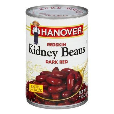 Hanover Kidney Beans, Redskin, Dark Red