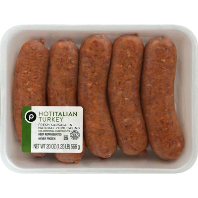 Publix Turkey Sausage, Hot Italian