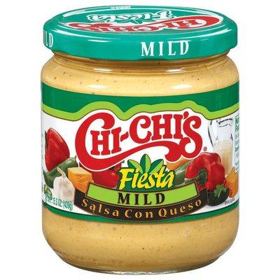 Chi-chi's Sauces Fiesta Mild Salsa Con Queso