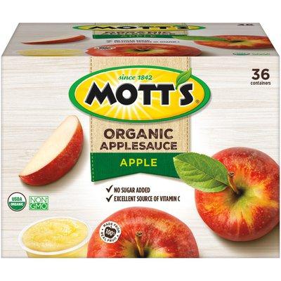 Mott's Organic Apple Applesauce
