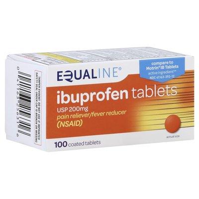 Equaline Ibuprofen, 200 mg, Coated Tablets