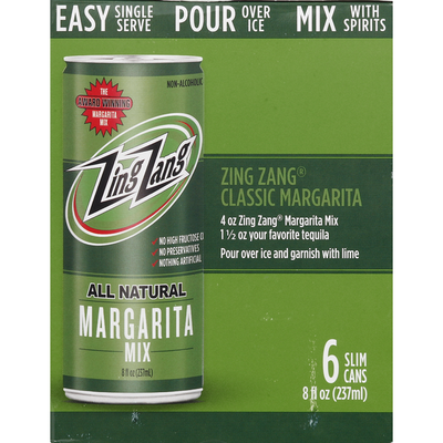 Zing Zang All Natural Margarita Mix