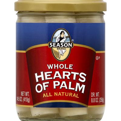 Season Brand Hearts of Palm, Whole