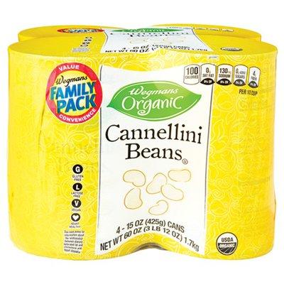 Wegmans Organic Cannellini Beans Family Pack
