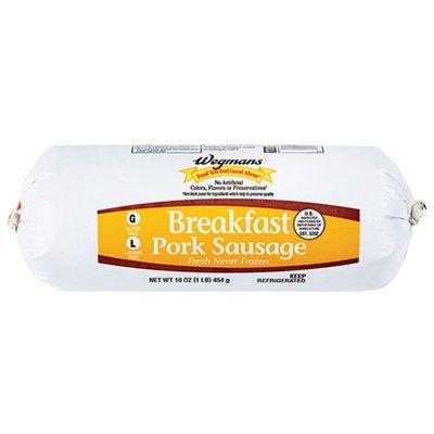 Wegmans Breakfast Pork Sausage