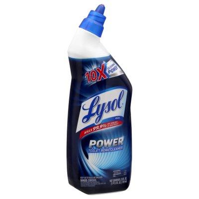 Lysol Toilet Bowl Cleaner Power
