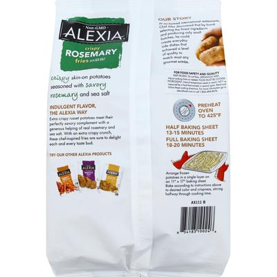 Alexia Fries, Crispy, Rosemary