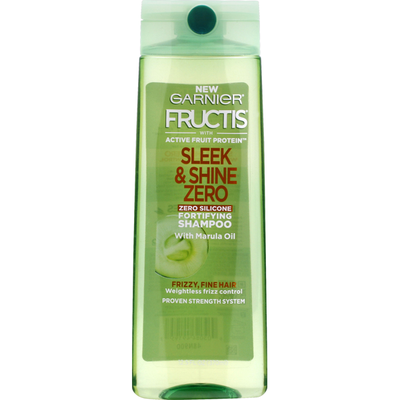 Garnier Fructis Shampoo, Fortifying, Zero Silicone