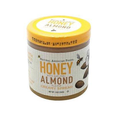 Buzz + Bloom Honey, Spreadable, Almond