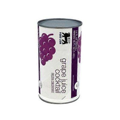Food Lion Juice Cocktail, Grape