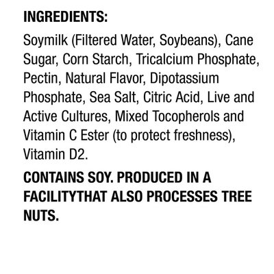 Silk Dairy Free Plain Yogurt Alternative