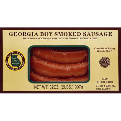 Georgia Boy Smoked Sausage