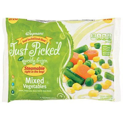 Wegmans Food You Feel Good About Just Picked and Quickly Frozen Mixed Vegetables